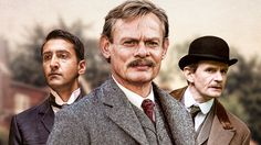 Martin Clunes (Doc Martin) stars as Sir Arthur Conan Doyle, creator of Sherlock Holmes, in a three-part MASTERPIECE Mystery! adaptation of a novel by Julian Barnes. Arthur & George airs Sundays, September 6-20, 2015 at the special time of 8/7c on MASTERPIECE on PBS.