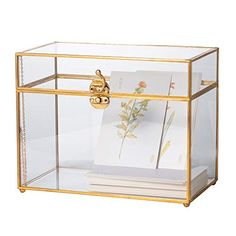 How to Make a Glass Card Box for Your Wedding | Emmaline Bride