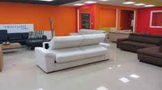 Steel XXL Sofa, Couch, Steel, Furniture, Home Decor, Settee, Settee, Decoration Home, Room Decor