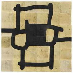Eduardo Chillida (1924-2002)   Mural G-46   signed with the artist's monogram (lower right)   fired clay with oxide copper   89¾ x 89¾ x 2 5/8in. (228 x 228 x 6cm.)   Executed in 1984