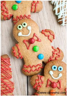 easy cake mix gingerbread cookies 1
