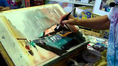 Watercolour Painting Demonstration by Pete Pinza