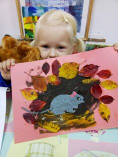 Рисование для детей от 2х лет. Просвещения 62 Art Drawings For Kids, Drawing For Kids, Painting For Kids, Fall Crafts For Kids, Projects For Kids, Art Projects, Kindergarten Art, Preschool Crafts, Art Lessons For Kids