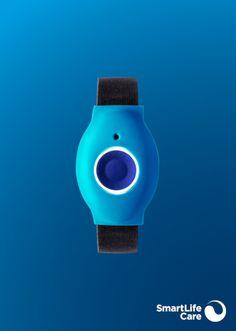 Bracelets Design, Fitbit, Black Bracelets, Light Blue, Buttons, Stainless Steel, Black Braces, Wristlets