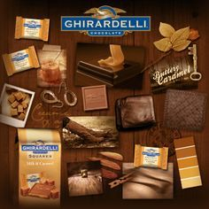 Chocolate motivates one to be creative! Ghirardelli Squares®: The sweet everyday reward. Ghirardelli Chocolate Squares, Yummy Treats, Yummy Food, Chocolate Shop, Christmas Mom, Caramel, Cooking Recipes, Tasty, Favorite Recipes