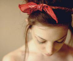Bandanna headbands <3