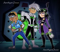 """nikk-mayson: """" nikk-mayson: """" Butch Hartman recently revealed pics of Danny Phantom, Tucker Foley, and Sam Manson 10 years after the show concluded. And apparently, it could be soon IN A NEW SERIES! (x) ART BY http://amethystocean-adr.tumblr.com/..."""