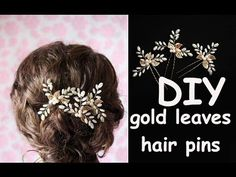 DIY Bridal Crystals & Pearls Tiara Hair Vine Headband Crown Bridal Hair Headpiece - YouTube
