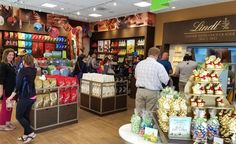 Lindt Chocolates at Little Rock Outlets.  #ShopOutletsofLittleRock #outletmall #shopping #littlerock #lindt #chocolate