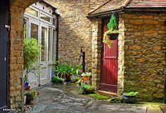Milborne Port, Dorset, England   500 year old village Inn .