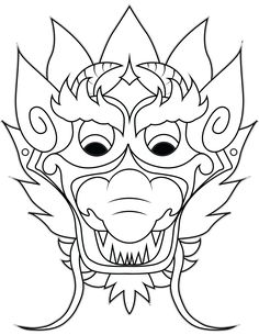 Chinese Dragon Mask Drawing 1000+ images about <b>dragons</b> on pinterest  <b>dragon mask</b> ...