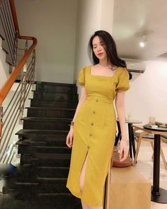 Fashion Tips For Beginners .Fashion Tips For Beginners Simple Dresses, Elegant Dresses, Pretty Dresses, Vintage Dresses, Beautiful Dresses, Casual Dresses, Summer Dresses, Korean Fashion Dress, Modest Fashion