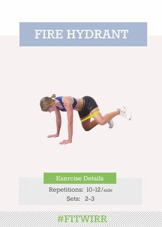 Fire hydrant exercise