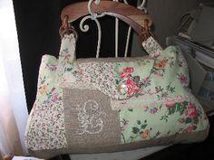 image patron gratuit sac en patchwork