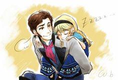 Elsa & Hans this is adorable