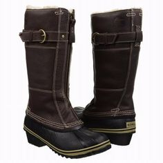 Women's Sorel boot - great for winter, skiing, etc!  These are a bit more simple and elegant, still with a fleece lining for cold winter days Brrrrrr