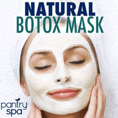 Natural Botox: Dr Oz Wrinkle Cure Treatment & Botox Mask-Half of a ripe banana, 1/4 cup of yogurt, 1 tsp of honey - 15 minutes