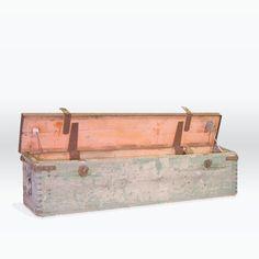 Chicago Vintage Industrial storage - World War Two Gun Box $175