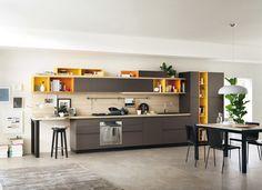 FoodShelf – Scavolini imagine des cuisines modulables linéaires
