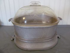 Guardian Service Casserole Dish with Class Lid by CheshiresFantasy, $108.00