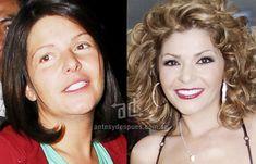 Itati Cantoral sin maquillaje