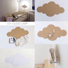 DIY Wolkenlampe DIY Wolkenlampe The post DIY Wolkenlampe appeared first on Babyzimmer ideen. Baby Bedroom, Baby Boy Rooms, Baby Room Decor, Nursery Room, Kids Bedroom, Cloud Bedroom, Baby Room Design, Kids Furniture, Furniture Stores