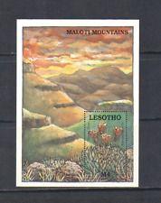 Lesotho 1989 Aloe / Red Hot Poker / sukulenty m / s n14058