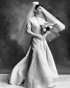 Jean Dessès bridal gown - 1954 - Nylon and rayon - @~ Mlle
