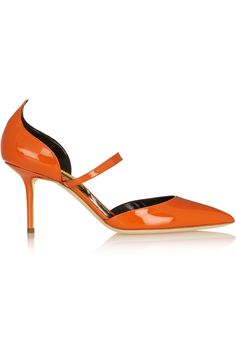 Rupert Sanderson | Romantica patent-leather pumps | NET-A-PORTER.COM