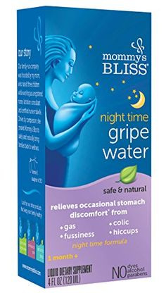 Mommy's Bliss Gripe Water Night Time, 4 Fluid Ounce *** Be sure to check out this awesome product.