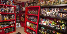 Toy Vault. This is amazing! Wish my brother would have saved all his Master's of the Universe toys!
