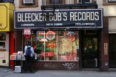Bleecker Bob's Records Store