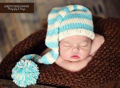 Go4Knits - Newborn Knit Elf Hat http://www.etsy.com/listing/97765707/newborn-knit-elf-hat-ready-to-ship