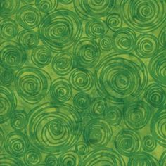 Island Batik Hand Printed Cotton - Botanical Garden SP12-D1