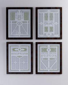 Four Country Estates Prints - Neiman Marcus
