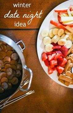 Winter Date Night Idea - Fondue Recipe
