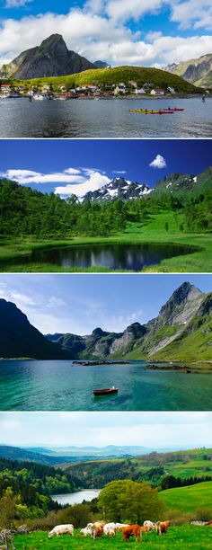 The Lofoten archipelago in Norway might just be one of the most beautiful spots in the world