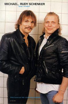 Rudolph Schenker & Michael Schenker* 1984