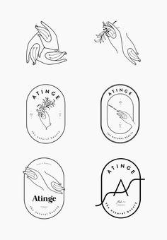 atinge-process-by-cocorrina // Logo Hände // hands