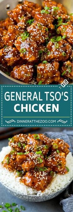 Tso's Chicken - CHICKEN RECIPES -General Tso's Chicken - CHICKEN RECIPES - The BEST homemade biscuits! These easy homemade buttery biscuits are super quick to make with very few ingredients. The perfect dinner side dish. Easy Chinese Recipes, Asian Recipes, Asian Dinner Recipes, Dutch Recipes, Tso Chicken, Baked Chicken, Healthy Chicken, General Tao Chicken, Best Chicken Recipes