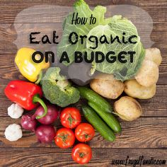 8 tips to providing a whole, organic diet for your family.  I am going on a strict organic diet I really miss the way I felt when I was on one for two years it makes a difference.