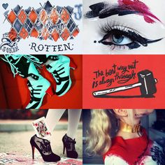 DC aesthetics: Harley Quinn