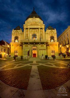 Pécs National Theatre   Nemzeti Színház. Hungary