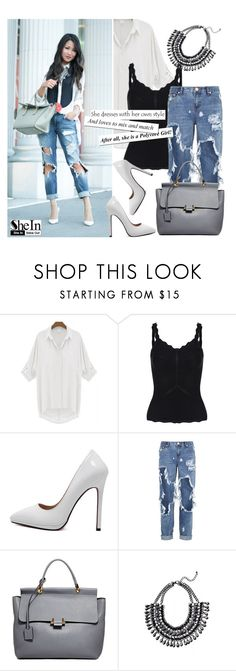 """She10"" by deeyanago ❤ liked on Polyvore featuring One Teaspoon, Lanvin, GetTheLook, Sheinside and CelebrityStyle"