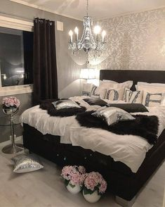 Tips To Bear in mind While Choosing Bedroom Furnishings – Home Decor Do It Yourself Modern Master Bedroom, Small Room Bedroom, Bedroom Decor, Bedroom Ideas, Couple Bedroom, Design Bedroom, Child's Room, Bedroom Colors, Bedroom Designs For Couples