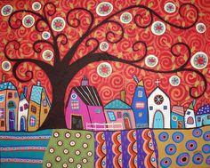 acrylic paint patterns -