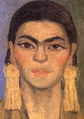 Diego's painting of Frida!