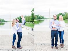 Oh man, Katey and her family really upped the ante with their Lincoln Memorial family photos! Jefferson Memorial, Lincoln Memorial, Dc Photography, Anniversary Photos, New Baby Girls, Couple Portraits, Professional Photography, Pregnancy Photos, Engagement Session