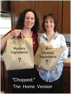 "Dinner Party Idea: A ""Chopped"" Challenge, The Home Version @ FoodieGoesHealthy.com"