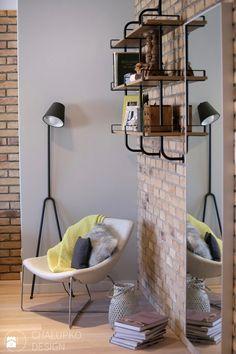 Salon - Styl Industrialny - Chałupko Design